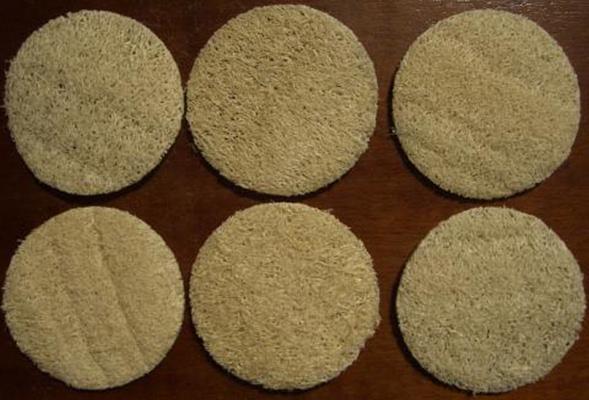 NEU: Luffa Peeling Pads (ohne Zimt)
